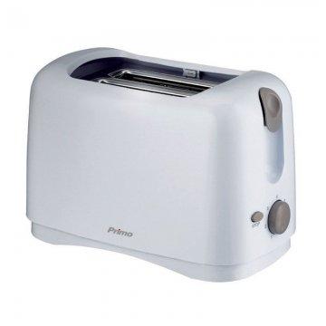Φρυγανιέρα YT-6002 2 Θέσεων PRIMO Λευκή-Γκρι