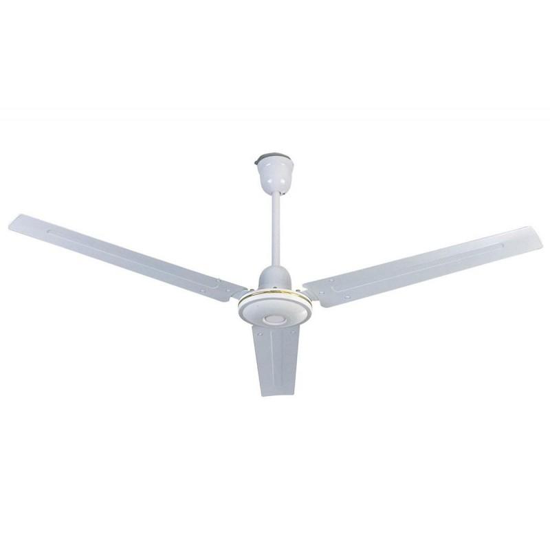 Ανεμιστήρας οροφής βιομηχανικού τύπου λευκός 56'' 75W - HUMAN CF56