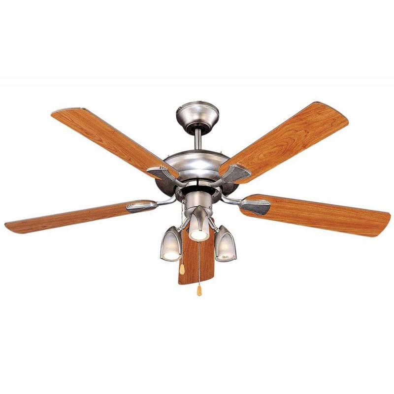 Ανεμιστήρας οροφής 3 φώτα - 5 φτερά 48'' 60W - HUMAN M48005XY3L